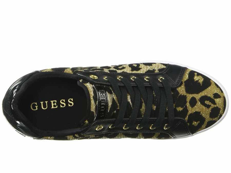 Guess Women Gold Pathin Lifestyle Sneakers