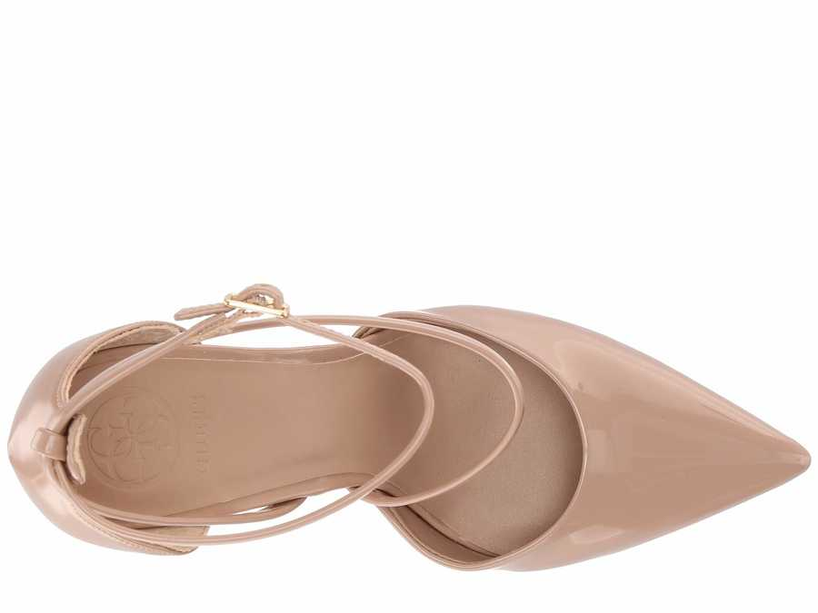 Guess Women Natural Synthetic Bizzy Pumps