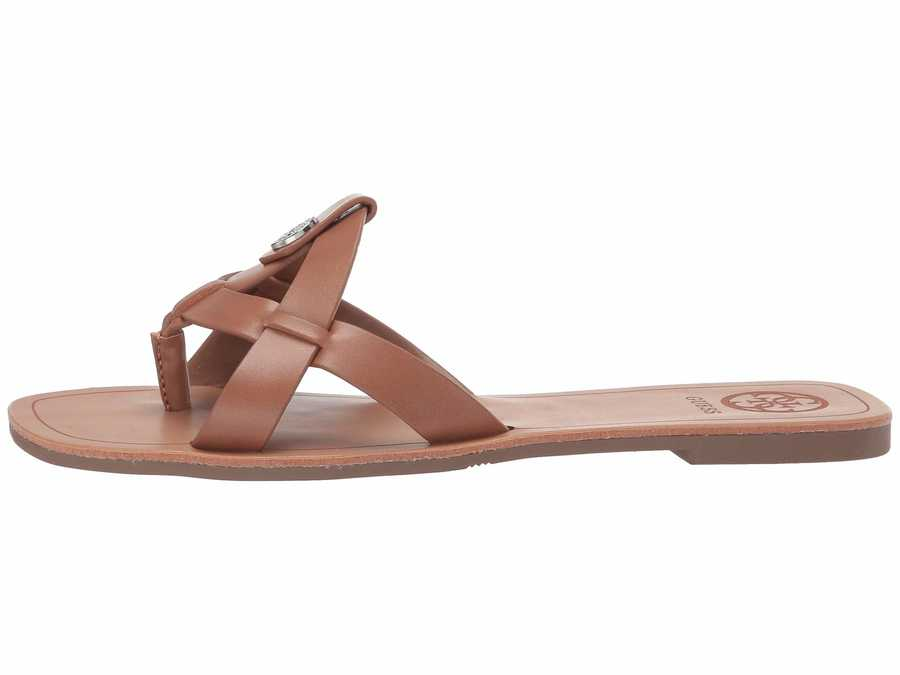 Guess Women New Luggage Chole Flat Sandals