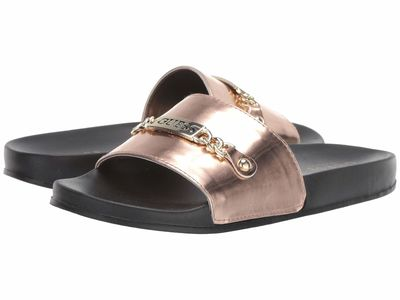 Guess - Guess Women Pink Kind Flat Sandals