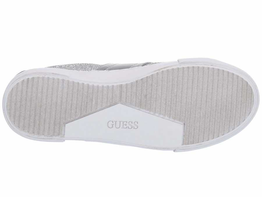 Guess Women Silver Ganessa Lifestyle Sneakers