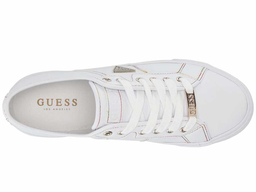 Guess Women White 2 Pacing Lifestyle Sneakers