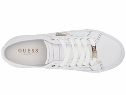 Guess Women White 2 Pacing Lifestyle Sneakers - Thumbnail