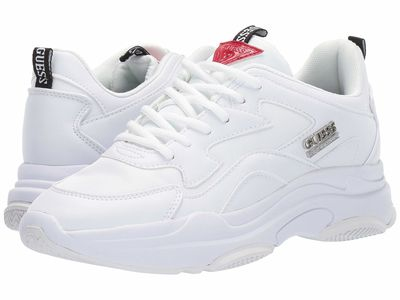 Guess - Guess Women White 2 Seeing Lifestyle Sneakers