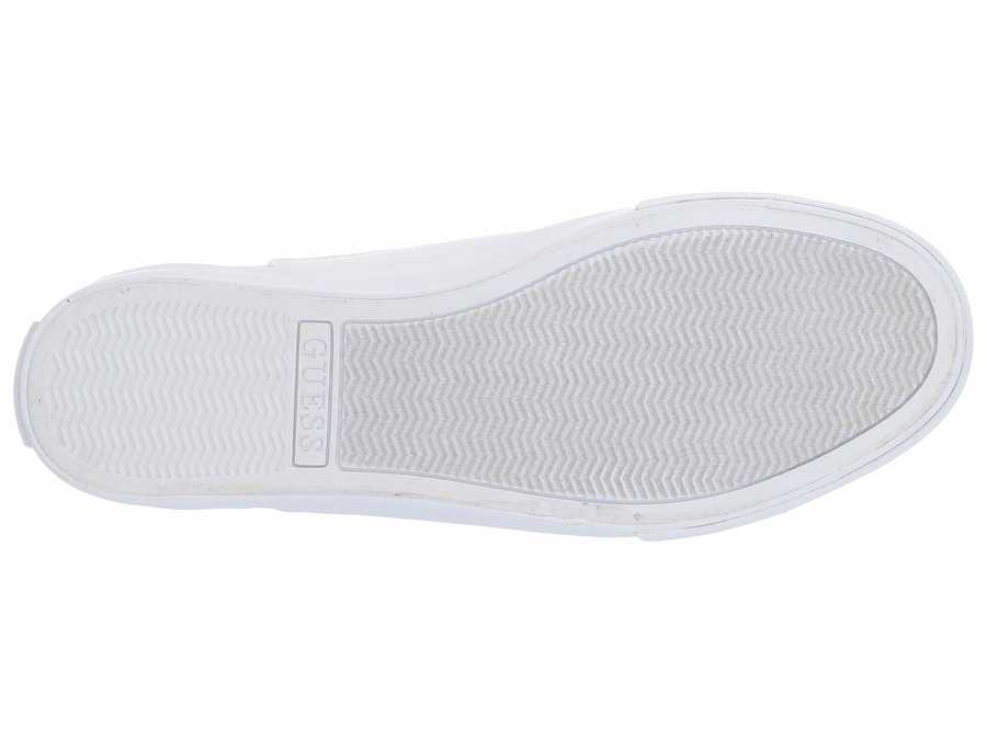 Guess Women White Comly Lifestyle Sneakers