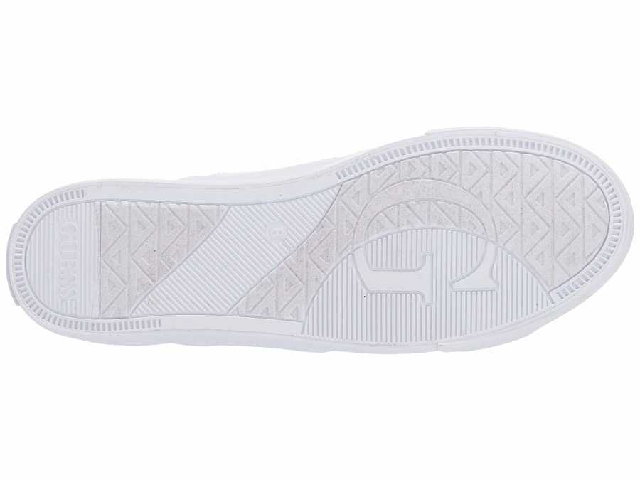 Guess Women White Paces Lifestyle Sneakers