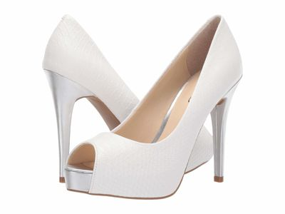 Guess - Guess Women White Pavell Pumps