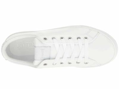 Guess - GUESS Women's White Jaida Lifestyle Sneakers