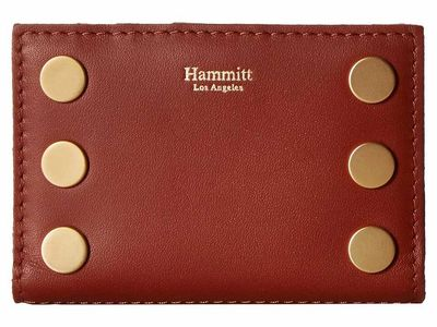 Hammitt - Hammitt Henna Lust/Brushed Gold 495 West Wallet Bi-Fold Wallet