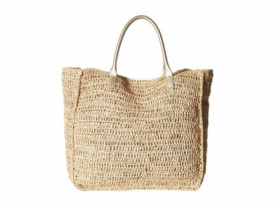 Hat Attack - Hat Attack Natural Luxe Day Bag Tote Handbag