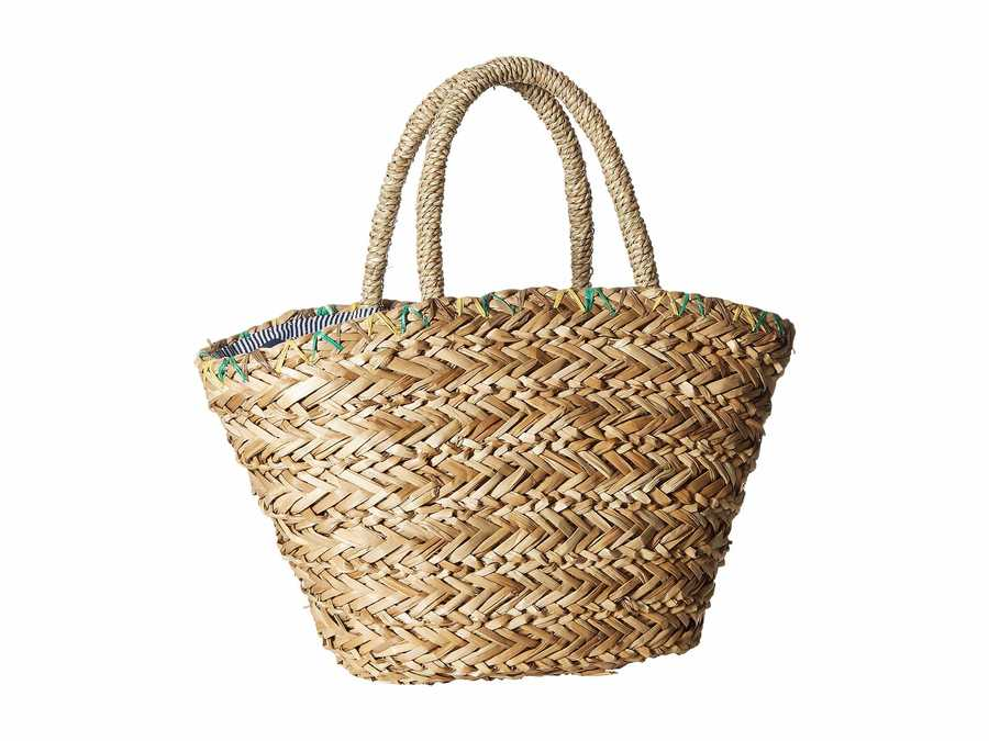 Hat Attack Natural Mini Palm Tote Handbag