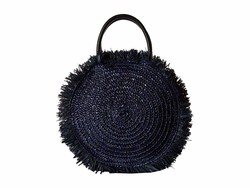 Hat Attack Navy Sunray Bag Satchel Handbag - Thumbnail
