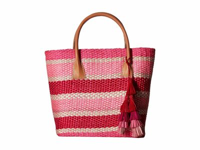 Hat Attack Pinkey Stripe Small Provence Tote Handbag