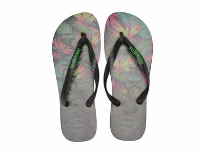 Havaianas - Havaianas Men Black/Black Top Tropical Flip-Flops Flip Flops
