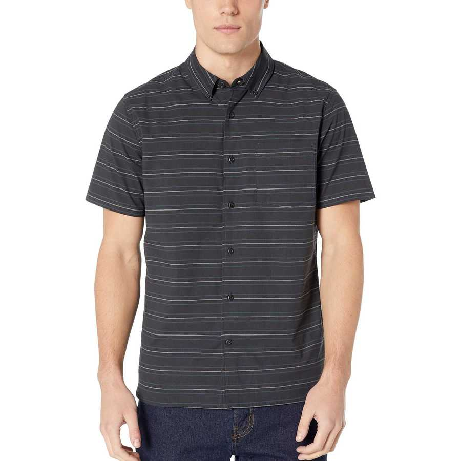 Hurley Black Dri-Fit Stay Cay Woven