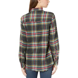 Hurley Black Wilson Flannel Top Long Sleeve - Thumbnail
