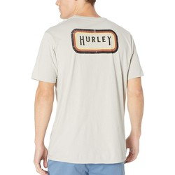 Hurley Cool Grey Breaker Benzo Enzyme Wash Short Sleeve - Thumbnail