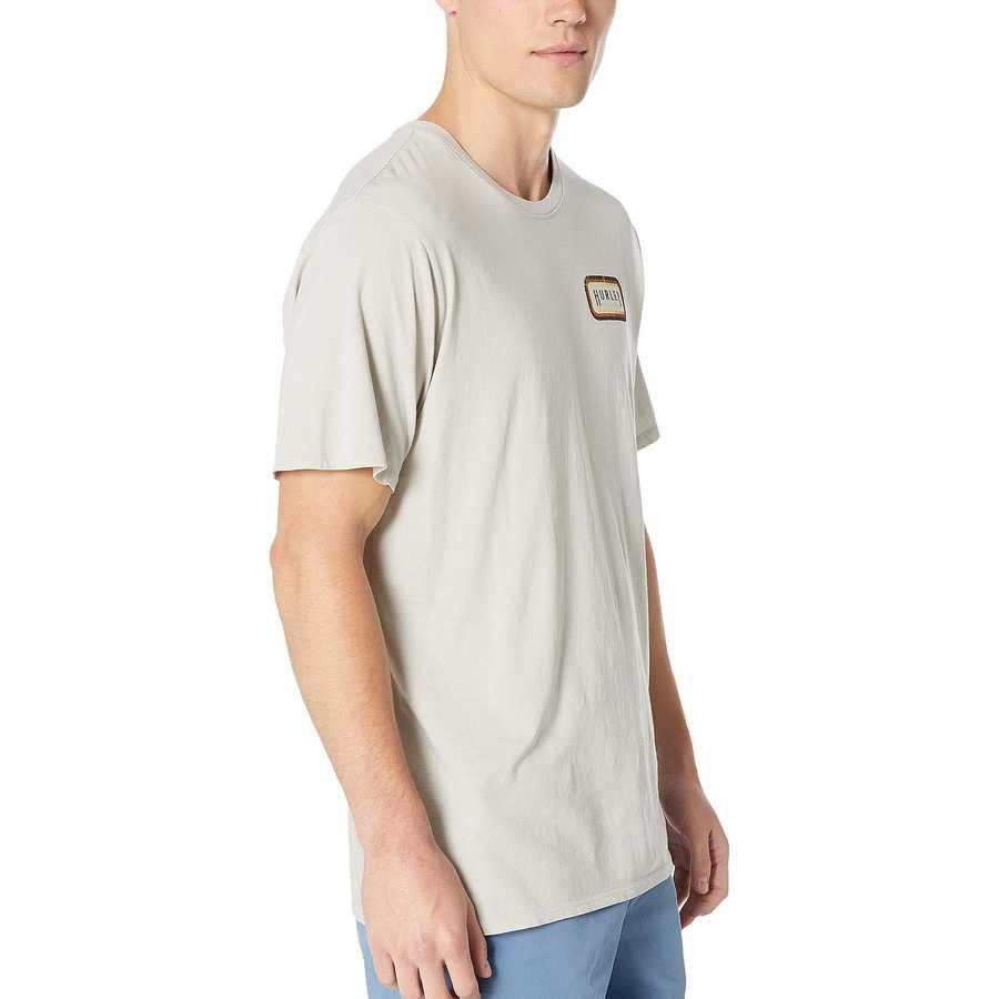Hurley Cool Grey Breaker Benzo Enzyme Wash Short Sleeve