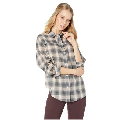 Hurley - Hurley Crimson Tint Wilson Plaid Dolman Long Sleeve