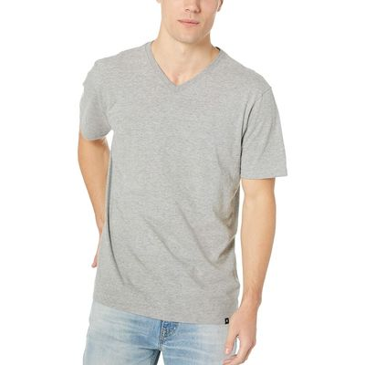 Hurley - Hurley Dark Grey Heather 1 Staple V-Neck Tee