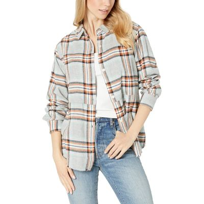 Hurley - Hurley Dark Grey Heather Wilson Flannel Top Long Sleeve