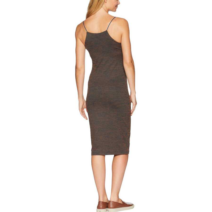 Hurley Dark Russet Reversible Fitted Dress