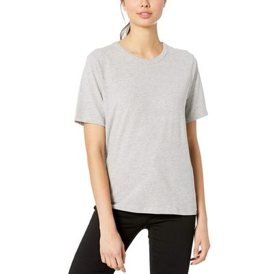 Hurley - Hurley Grey Heather Perfect Crew Tee Short Sleeve