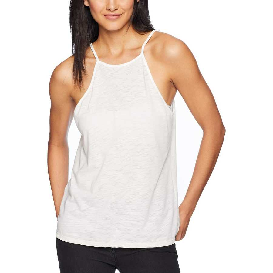 Hurley Oatmeal Heather Dri-Fıt Solid Ringer Tank