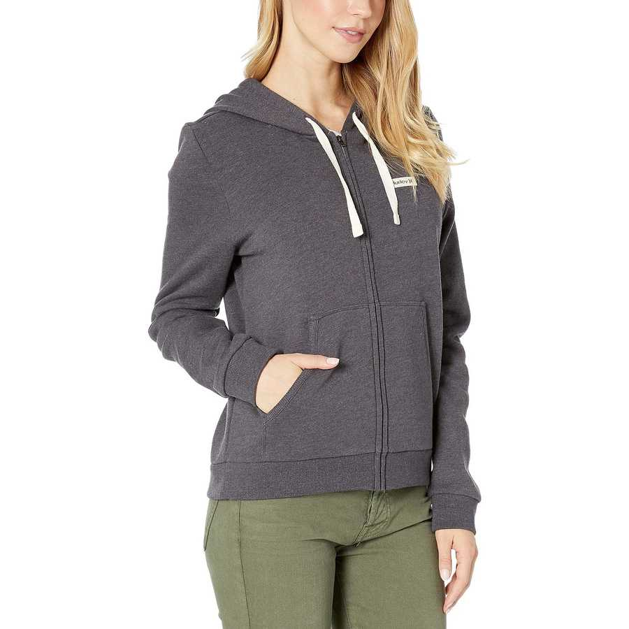 Hurley Oil Grey One And Only Small Box Perfect Zip