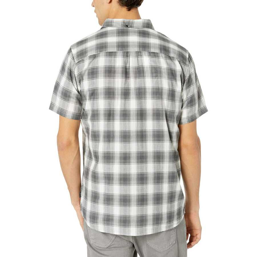 Hurley Summit White Archie Short Sleeve Woven