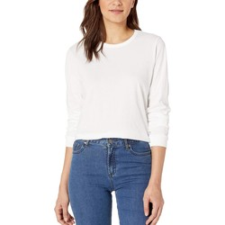 Hurley White Solid Perfect Long Sleeve - Thumbnail