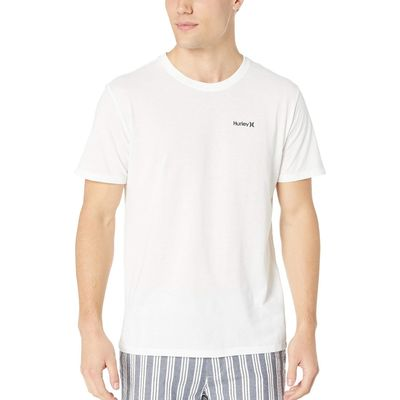 Hurley - Hurley White/Anthracite Dri-Fit One & Only 2.0 Tee
