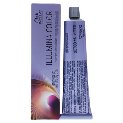 Wella - Illumina Color Permanent Creme Hair Color - 8 05 Light Blonde-Natural Red Violet 2oz