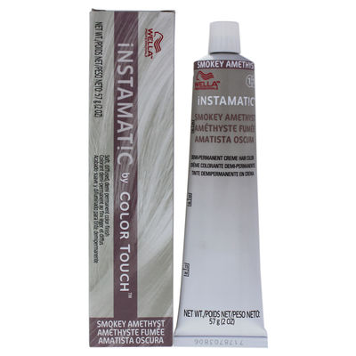 Wella - Instamatic By Color Touch Demi-Permanent Hair Color - Smokey Amethyst 2oz