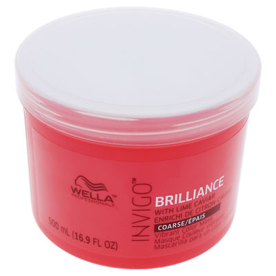 Wella - Invigo Brilliance Mask For Coarse Hair 16,9oz