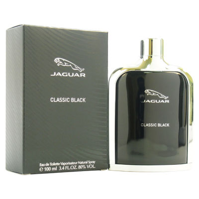 Jaguar - Jaguar Black EDT 100 ML (3.4oz) Men Perfume (Original)