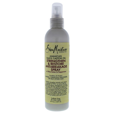 Shea Moisture - Jamaican Black Castor Oil Strengthen and Restore Anti-Breakage Spray 8oz