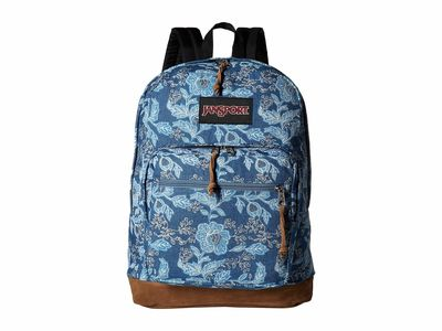 Jansport - Jansport Batik Blue Denim Right Pack Expressions Backpack