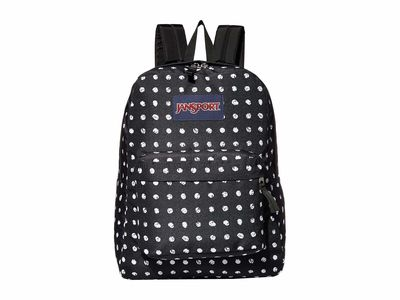 Jansport - Jansport Black Sketch Dot Superbreak Backpack
