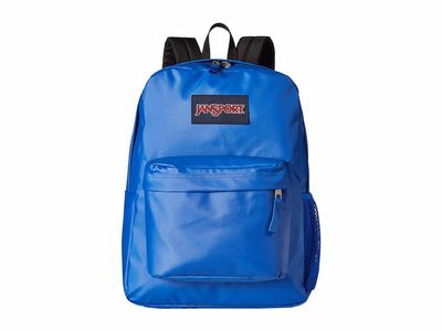 Jansport - Jansport Border Blue Coated 600D Hyperbreak Backpack