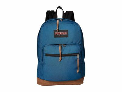 Jansport - Jansport Corsair Blue Right Pack Backpack