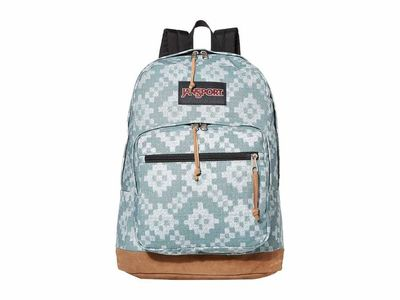 Jansport - Jansport Frost Teal/Diamond Fade Right Pack Backpack