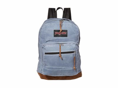 Jansport - Jansport Grey Slate Canvas Right Pack Expressions Backpack
