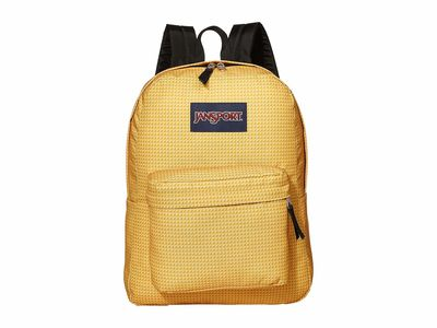 Jansport - Jansport Mustard Combo Superbreak Backpack
