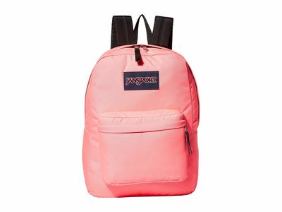 Jansport Neon Pink Superbreak Backpack