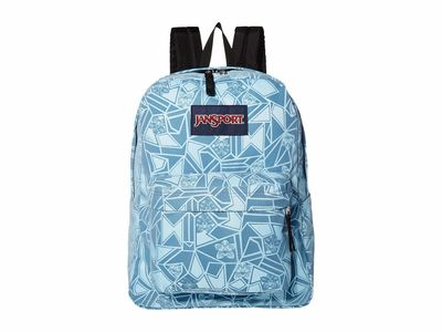 Jansport - Jansport Orchid Mirror Flock Superbreak Backpack