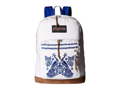 Jansport - Jansport Peacock Plumes Right Pack Expressions Backpack