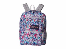 Jansport Petal To The Metal Print Big Student Backpack - Thumbnail