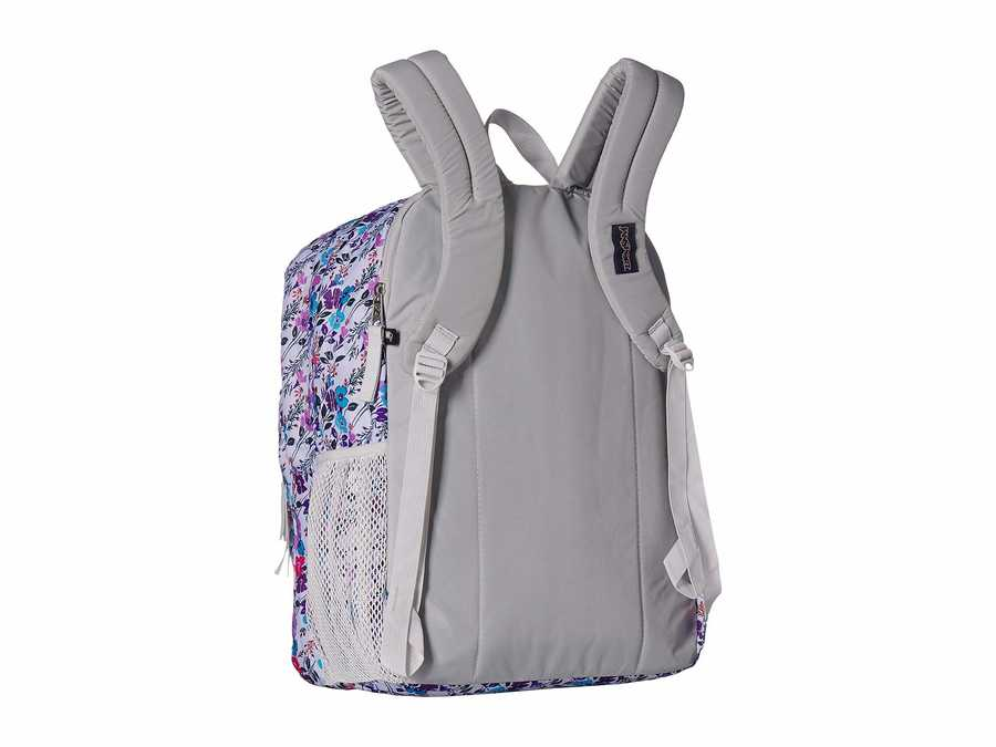 Jansport Petal To The Metal Print Big Student Backpack