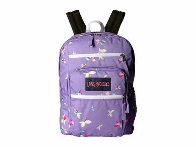 Jansport - Jansport Purple Dawn Butterfly Kisses Big Student Backpack